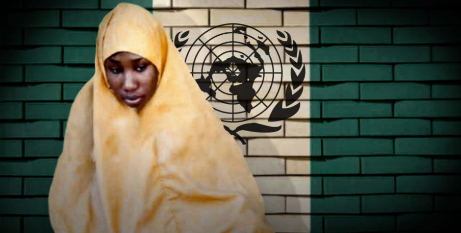 Demanding the Immediate Release of Christian Teen Leah Sharibu at the United Nations | American Center for Law and Justice