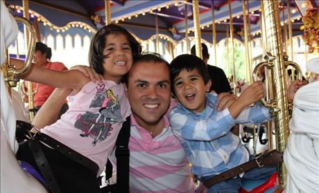 Saeed Abedini &amp; family