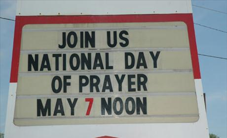 Join Us National Day of Prayer May 7 Noon