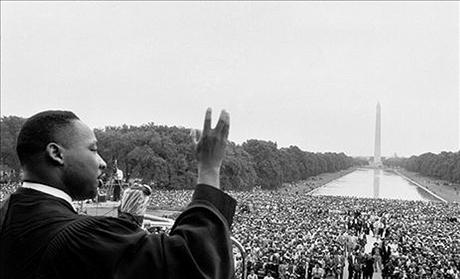 Martin Luther King, Jr. speaking in Washington, D.C.
