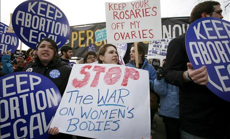 Abortion Supporters & War on Women