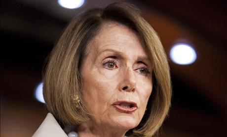 House Minority leader Nancy Pelosi (D-CA) speaks to the media on Capitol Hill in Washington