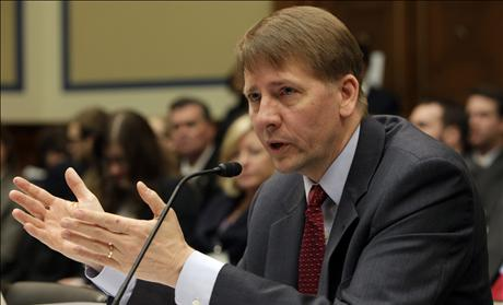 Richard Cordray testifies before the House Oversight and Government Reform Committee Subcommittee in Washington