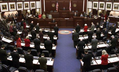 Florida Senate Praying