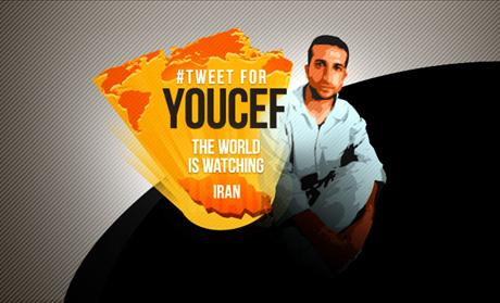 Tweet for Youcef Nadarkhani