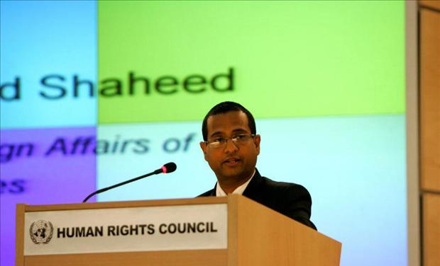 United Nations Special Rapporteur on the situation of human rights in Iran Ahmed Shaheed