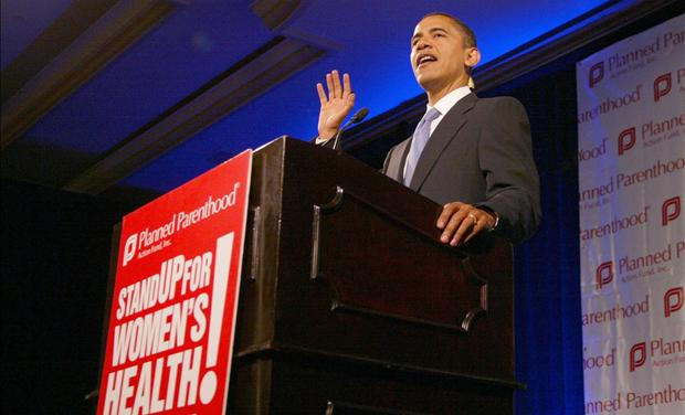 Obama at Planned Parenthood Meeting
