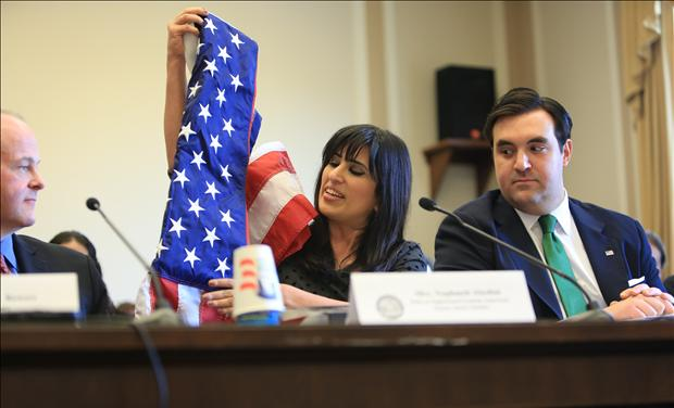 Pastor Saeed's Wife Testifying Before Congress