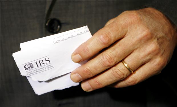 Letter to IRS