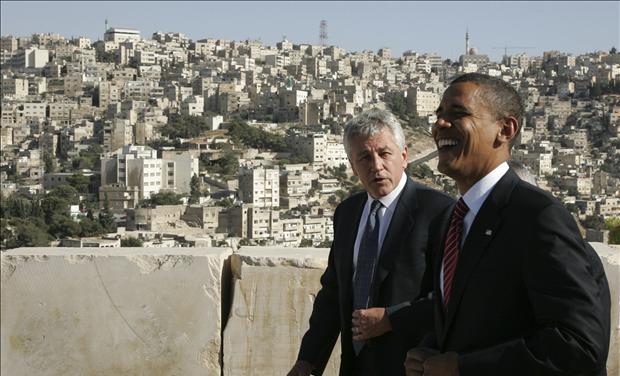President Obama & Senator Chuck Hagel