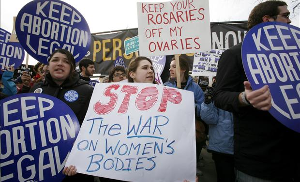 Abortion Supporters &amp; War on Women