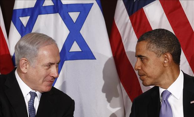 U.S. President Obama meets Israel's Prime Minister Netanyahu at the United Nations in New York