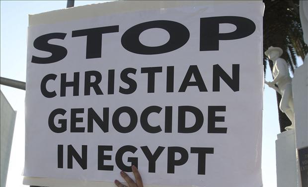 Stop Christian genocide Egypt