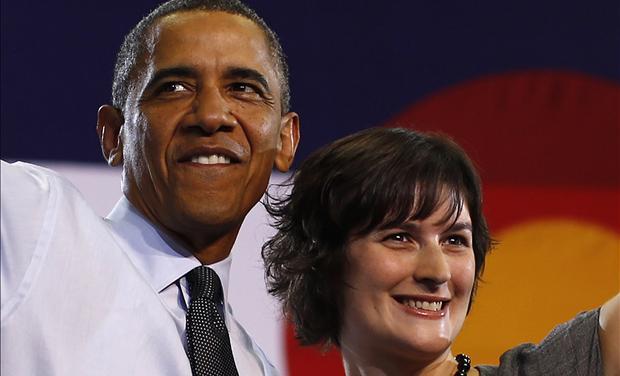Barak Obama Sandra Fluke