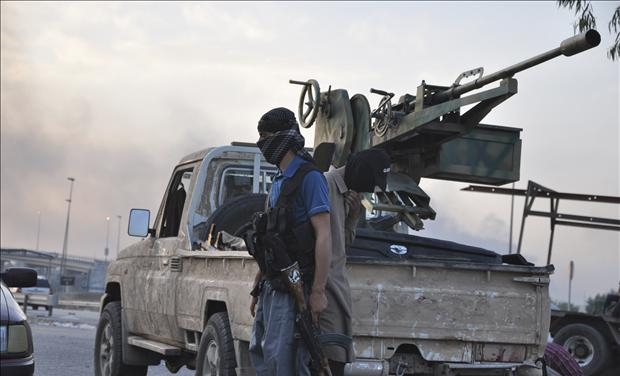 ISIL soldiers in Iraq