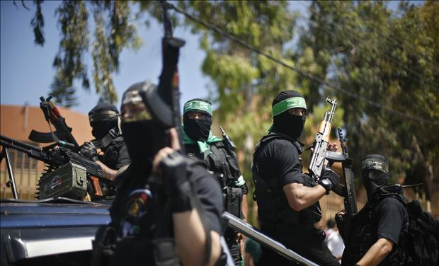 Palestinian members of Hamas