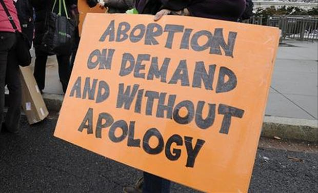 Abortions on demand without apology