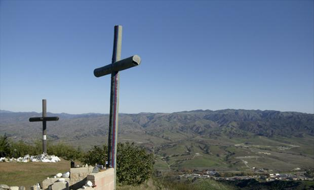 Camp Pendleton Memorial Crosses