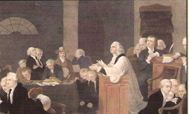 First Prayer in Congress Image