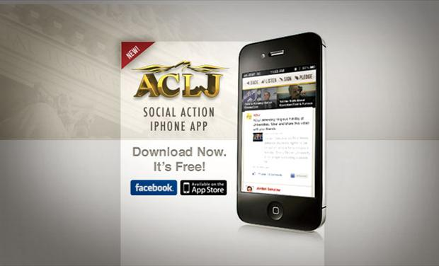 ACLJ Social Action iPhone App