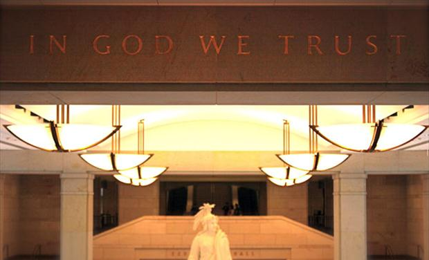 Lawsuit Opposes In God We Trust in the Capitol Visitor Center