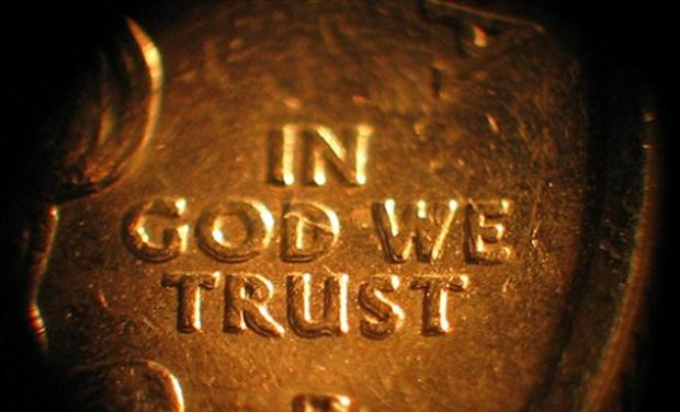 In God We Trust coin