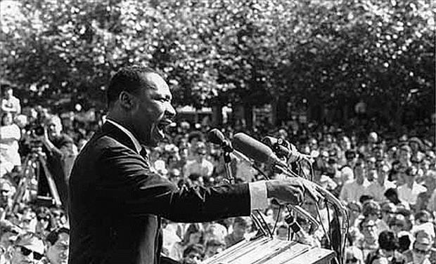 Martin Luther King, Jr. speaking