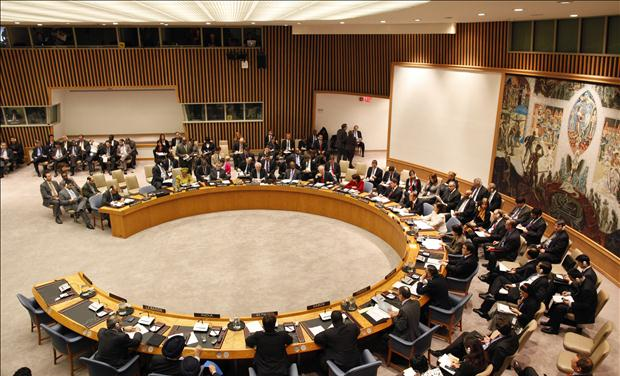 The United Nations Security Council meets on Libya at U.N. headquarters in New York