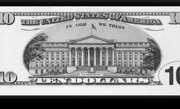 DEBUT OF NEW TEN DOLLAR BILL.