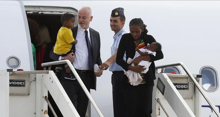 Meriam Ibrahim and her family are safe and free in Italy.