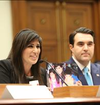 Pastor Saeed's wife Naghmeh and Jordan Sekulow Testifying in Congress
