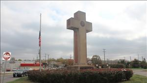 WWI Cross in Maryland