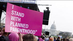 "Members of Planned Parenthood, NARAL Pro-Choice America hold ""Stand Up for Women's Health"" rally in Washington"