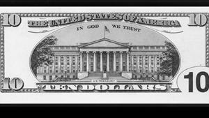 DEBUT OF NEW TEN DOLLAR BILL.